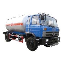 Dongfeng 4X2 4X4 Motor Cummins 15000 litros caminhão tanque de GPL com dispensador