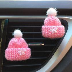 Voiture Voiture Noël Hat Clip de parfum de l'arôme des accessoires de décoration de l'automobile