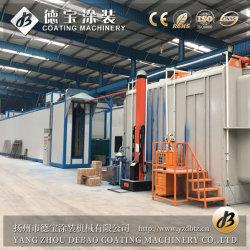 Macchina di rivestimento di alluminio personalizzata ultimo Multi-Potere del sistema della pittura della polvere con ISO9001