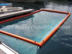 Надувной Бассейн Бассейн с видом на океан с плавающей запятой для яхты