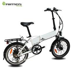 Vélo électrique de 20 pouces de carton pliage adulte bon marché chinois de bâti en acier de mini à vendre