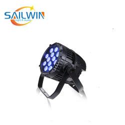 12*10 واط 4in1 RGBW ضوء LED مقاومة للماء، 64 ضوء