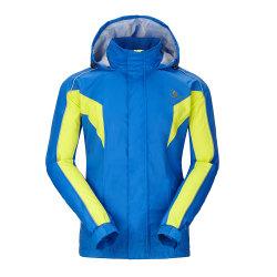 Vestiti antivento Rainproof di Softshell di sport di colore di contrasto