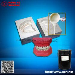 Zahnsilikon für die Herstellung von Silikon-Formen aus Gips Zahnform