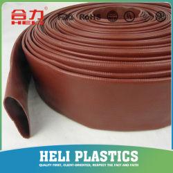 Flexibles Pumpen-Wasser Hochdruckbelüftung-gelbe/blaue/rote Bewässerung gelegter flacher Schlauch/Rohr/Gefäß für landwirtschaftliche Bewässerung