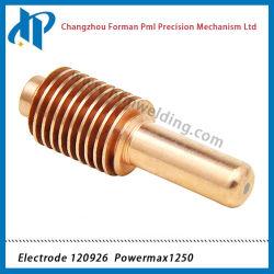 Elettrodo 120926 per i materiali di consumo 1250 della macchina ossitaglio del plasma 40-80A