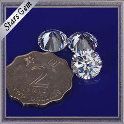 方法宝石類のための大きいサイズ10mmの円形の立方ジルコニアの石