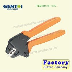 Capacité de sertissage 0.25-6.0mm2 de l'enregistrement de l'énergie sur le fil la pince à sertir à cliquet