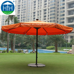La energía solar de alta calidad de Aluminio Autometic sombrilla paraguas para el jardín al aire libre