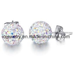 Mode bijoux unique en acier 8 mm de goujon à bille Earring