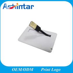 Nom de la carte en plastique disque Flash USB Stick USB étanche Mini Lecteur Flash USB