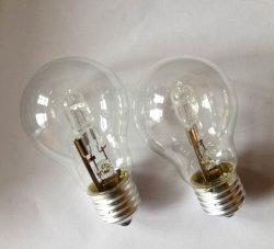 Las bombillas halógenas lámparas de iluminación A60 A55 de 220V 42W 110V 53W 70W 105W 2000horas Ce RoHS C35 G45 borrar las bombillas de ahorro de energía