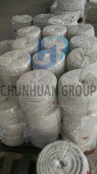 Keramische Faser-umsponnenes quadratisches Seil, Verpackung, Gewebe