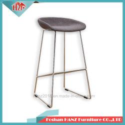 여가 바 가구 PU 가죽 시트 호텔 접수대를 위한 높은 발판 의자 건초 의자