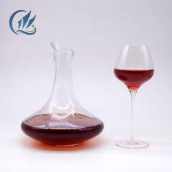 Luxuxhochzeits-Rotwein-Becher-Goldfolie hielt Wein-Glas auf