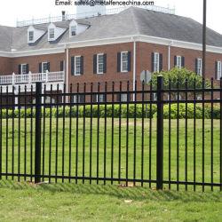Residencial y comercial de Black Metal de hierro forjado ornamentales cercas del Jardín de Esgrima /