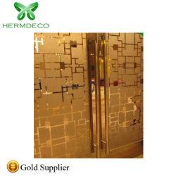 201 304 de la puerta de metal repujado decorativo puerta en puerta de acero inoxidable precio muy barato