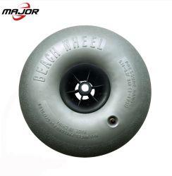 9 10 12 15 16 인치 풍선 타이어 배 트레일러를 위한 압축 공기를 넣은 PVC 모래 손수레 바퀴