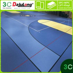 Deportivos interiores y exteriores pavimentos de PVC de 4,5 mm