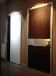 現代振動ドア、純木のドア、メラミンフラッシュ・ドア
