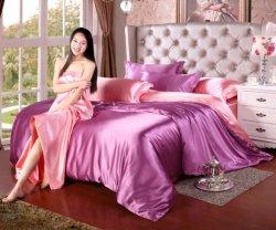 Poliéster de alta calidad Precios baratos manchar la ropa de cama de seda