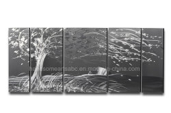 3D visuelle Wirkung Metall Wandkunst für Deokoration