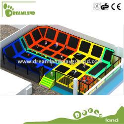 Super-divertido Norma europeia sobre as Crianças Piscina Bungee Jumping trampolim para o parque de diversões