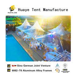 De Duitse Transparante Tent van de Pagode van de Partij van het Huwelijk van het Festival Gazebo (06)