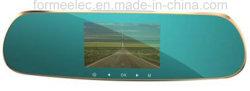 5pulgadas WiFi inteligente lente doble espejo coche DVR Detector de radar láser
