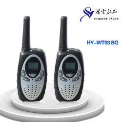 多色刷りの対面無線のトランシーバか通話装置(HY-WT03 BG)