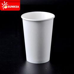 Tazza di carta a parete semplice stampata del caffè 9oz