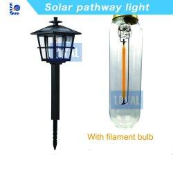 Ningbo leales Jardín Lámparas LED 9lm 2018 Nuevo producto de la luz solar Pathway