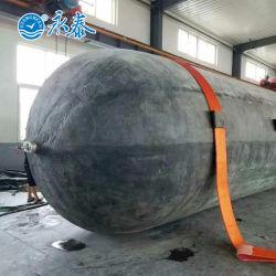 Navire Heavy Duty/bateau de récupération/de levage/de lancement maritime de l'airbag en caoutchouc 0,17 MPa