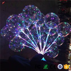 Ballon gonflable en latex de lumière clignotante ballon LED
