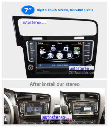 Auto-MP3-Player für VW Golf 7 GPS Navigation Stereo Satnav Autoradio Headunit DVD