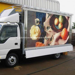 De veranderlijke LEIDENE Mobiele Aanhangwagen van het Teken/Auto/Voertuig/Bestelwagen/Vrachtwagen Opgezette LEIDENE Vertoning/Comité/Aanplakbord/Signage