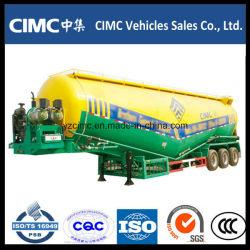 Cimc Tri-Axle Bulker cemento seco para el transporte de polvo a granel