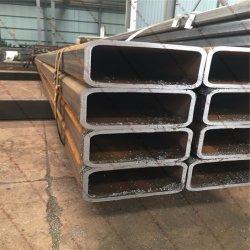 Jisg Heavy-Caliber 3466 Frio retangular sem costura do tubo de aço