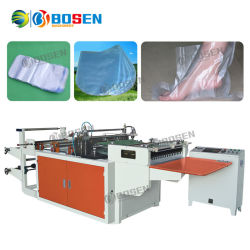 Entièrement automatique Arc thermorétractables de film de PVC haute vitesse de coupe d'étanchéité de forme ronde sac en plastique de type Making Machine