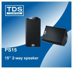 PA haut-parleur 15 pouces avec haut-parleur de l'étape d'avertisseur sonore