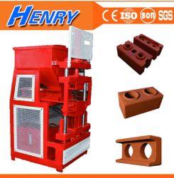 Rh2-10 machine à fabriquer des briques Lego hydraulique machine à briques de verrouillage de l'argile du sol moteur Siemens