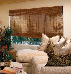 ローラーのローマのブラインドが付いているタケ窓カーテン