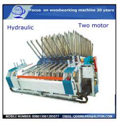 Dois motores da placa de madeira Fabricação de móveis da máquina de junção Jointer/ Composer/ /Transportadora luminária de Fechamento com prensa hidráulica