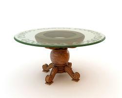 Mesas de vidrio, Vidrio templado para té y café/ mesa de comedor Tops