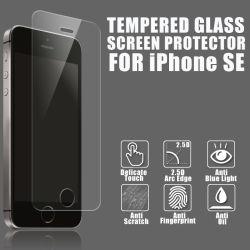 Hoogwaardige schermbeschermer van getemperd glas voor iPhone 5, 5s