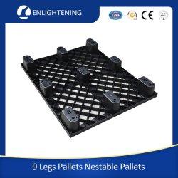 9 ساق الخدمة الخفيفة المعاد تدويرها مرة واحدة الصينية القابلة للاستعمال منصة بلاستيكية للبيع