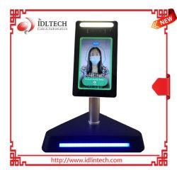 Comercio al por mayor de 8 pulgadas/Terminal de reconocimiento facial Termómetro infrarrojo de temperatura/Escáner integrado de dispositivos de medición de temperatura/Sistema de Control de acceso