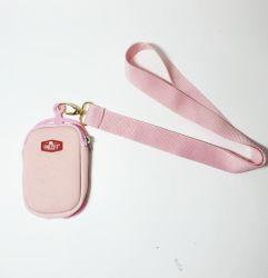 Support de téléphone portable en silicone avec porte-carte et sac