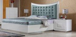 King Queen Doppel Single Size Luxus Holz Kopfteil Bett für Schlafzimmer
