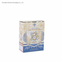 أوكازيون كامل السعر جيد طباعة كاملة لزجاجات الخمر صندوق ورقي مع ملحق لوحة عادية